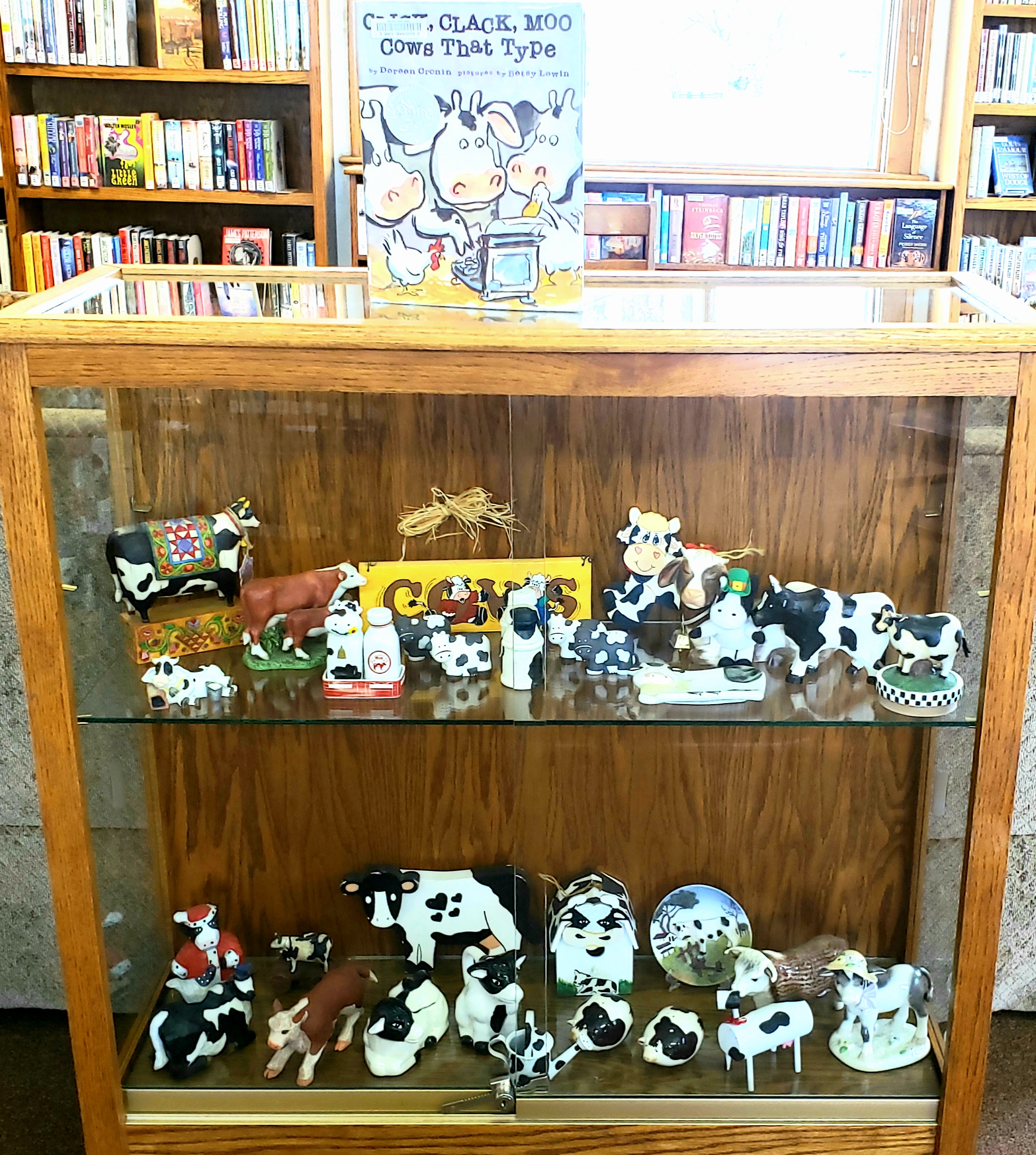 We regularly display local collections from our patrons.  If you have a collection that you would like to share, please contact our library.